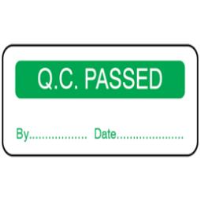 Q.C. Passed Labels