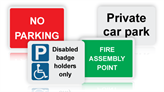 Parking & Site Signs