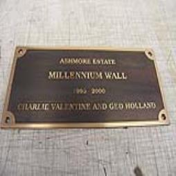 200MM X 400MM REVERSE ETCHED 3MM BRONZE