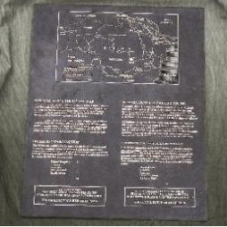 2' x 3' trial bronze plaque for the war graves commission