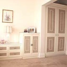 Bespoke wooden bedroom suites