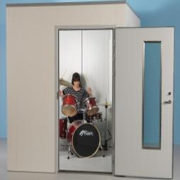 Soundproof Music Practice Rooms for the home