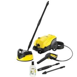 K4 Compact Home Pressure Washer 130 Bar 240 Volt