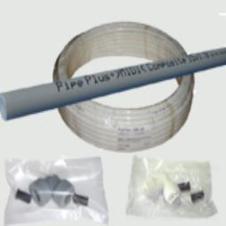 Plastic Barrier Pipe and Fittings for Plumbing and Heating