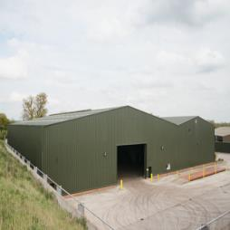 Insulated Biomass Power Station Build