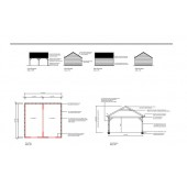 Garage Planning Drawings 45 Gable Front