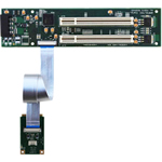 Half MiniPCIe to Dual PCI Adapter (with -12V)