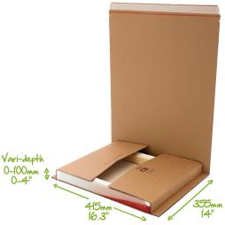 C5 bukwrap mailer for photo frames