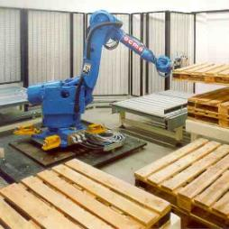 OCME Automatic Empty Pallet Inspection and Quality Control System