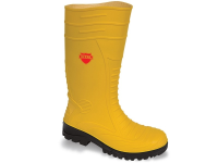 Yellow Midsole Wellington  7  'Groundworker'