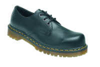 Icon Black 3 Eye Lace Shoe  6 with SAF Sole