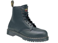 Icon Black 7 Eye Boot Size  4 with SAF Sole
