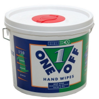 One Off Hand Wipes Tub 150