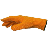 Yellow Criss Cross Glove