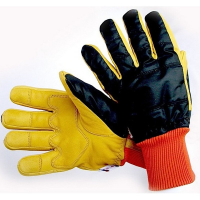Yellow Hide Freezer Glove G01
