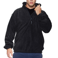 K901 Half Zip Fleece Black Large