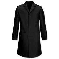 W1 Warehouse Coat Black 132cms