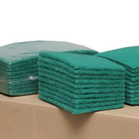 Pack of 20 Economy Green Scourers