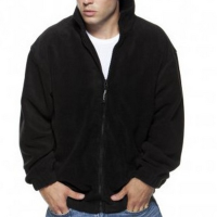 K903 Full Zip Fleece Black Small
