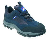 Navy Gravity Trainer Shoe 10  Suede/Nylon Metal Free