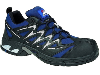 Navy Gravity Trainer Shoe  7  Metal Free Cap and Midsole