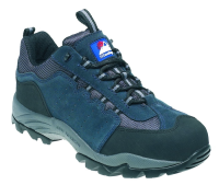Navy Gravity Trainer Shoe   9 Suede with midsole
