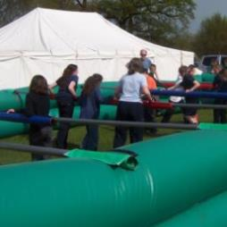 Inflatable Human Table Football For Hire