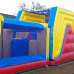 Inflatable 60ft Assault Course