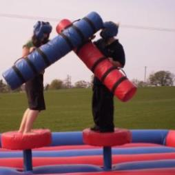 Inflatable Gladiators Game For Hire