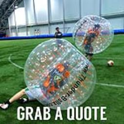 Bubble Football Hire In Blackpool