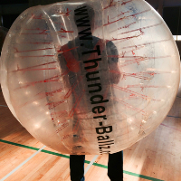 Bubble Football Hire In London