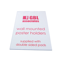 Wall Mounted Poster Holders