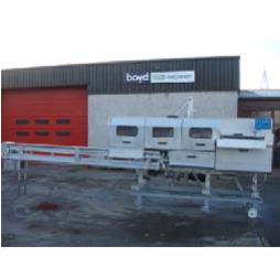 Salmon/Trout/Coho Gutting Machine From Boyd Food Machinery