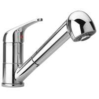 pyramis pull out spray tap