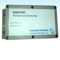 RAMPORT-COMMS Remote Asset Monitoring Modem with RS232/485 Communications
