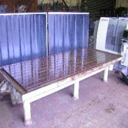 """T SLOTTED TABLE 13ft 6"""" x 6ft"""