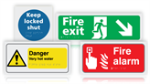 Tactile and Braille Safety Signs