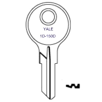 Yale 1D to 150D Steel Box Keys