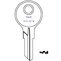 Yale 1C1 to 1C14 Desk Keys