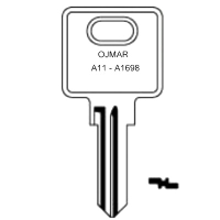 Ojmar A11 to A1698 Cabinet Keys