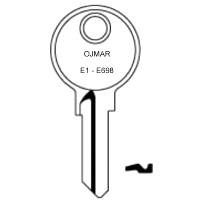 Ojmar E1 to E698 Cabinet Keys
