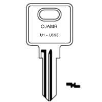 Ojmar U1 to U698 Cabinet Keys