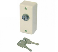 E32 Narrow Style White Key Switch