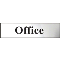Office Metal Strip Sign