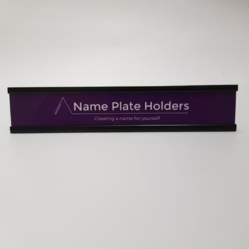 A/Trak Door Name Plate Holder