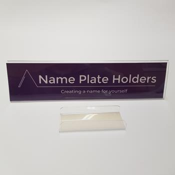 Name Plate holders for office Dividers