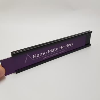 A Trak Slide-In Name Plate Holder
