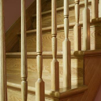 Oak Stair Installation Liverpool