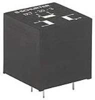 IX-30-0002 - Cost optimized pulse transformer for THT mounting, up to 2W