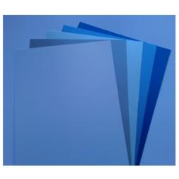 A4 Cool Winter Colours Pearlescent Paper Single Side